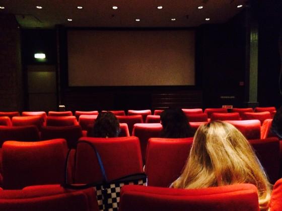De film werd vertoond in de kleinste zaal van de bioscoop
