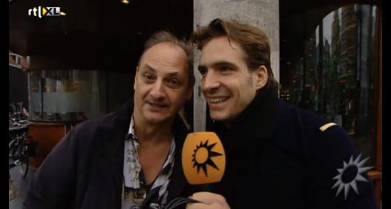 Martin maakt reportage voor RTL Boulevard